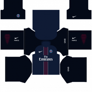 Dream League Soccer DLS 512×512 PSG Home Kits
