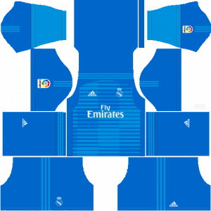 Dream League Soccer DLS 512×512 Real Madrid GoalKeeper Away Kits