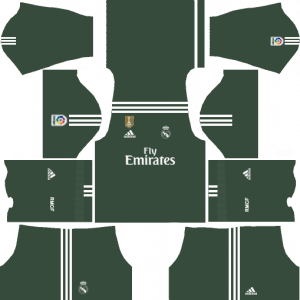 Dream League Soccer DLS 512×512 Real Madrid GoalKeeper Home Kits