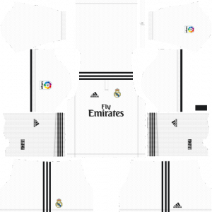 Dream League Soccer DLS 512×512 Real Madrid Home Kits