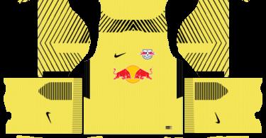 Dream League Soccer DLS 512×512 RB Leipzig Kits GoalKeeper Home Kits