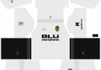 Dream League Soccer DLS 512×512 Valencia Kits Home Kits