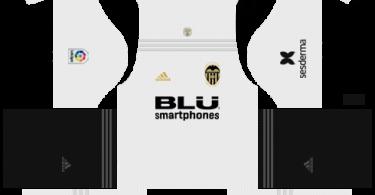 Dream League Soccer DLS 512×512 Valencia Kits Home Kits
