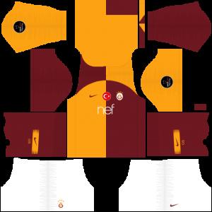 Dream League Soccer DLS 512×512 Galatasaray Home Kits