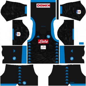 Dream League Soccer DLS 512×512 Napoli Kits Away Kits
