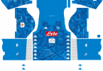 Dream League Soccer DLS 512×512 Napoli Kits Home Kitss