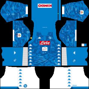 Dream League Soccer DLS 512×512 Napoli Kits Home Kitss