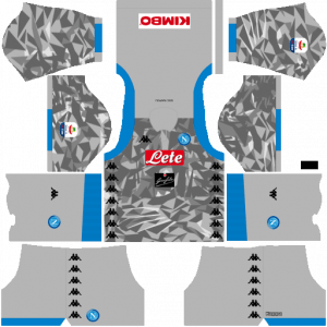 Dream League Soccer DLS 512×512 Napoli Kits Third Kits