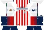 Dream League Soccer DLS 512×512 Chivas Home Kits