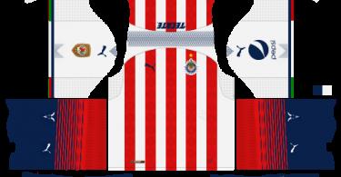 Dream League Soccer DLS 512×512 Chivas Home Kits