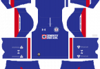 Dream League Soccer DLS 512×512 Cruz Azul Home Kits