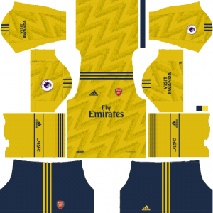 DLS Arsenal Away Kits