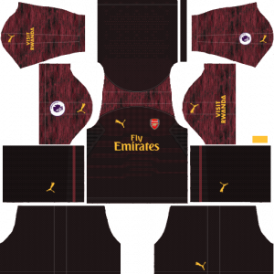 DLS Arsenal Goalkeeper Away Kits
