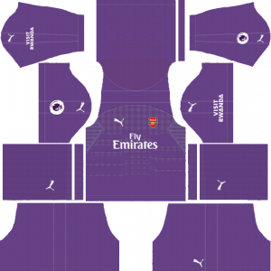 DLS Arsenal Goalkeeper Third Kits