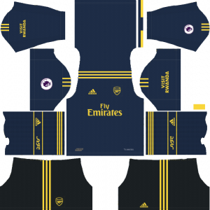 DLS Arsenal Third Kits