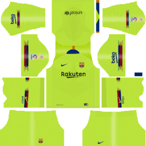 DLS Barcelona Away Kits