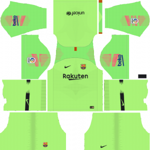 DLS Barcelona Goal Keeper Away Kits
