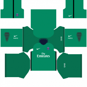DLS PSG Goalkeeper Home Kits