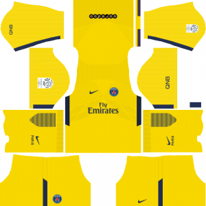 DLS PSG Goalkeeper Third Kits