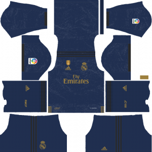 DLS Real Madrid Away Kits