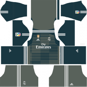 DLS Real Madrid Goapkeeper Away Kits