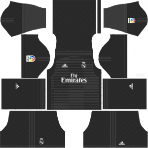 DLS Real Madrid Goapkeeper Home Kits