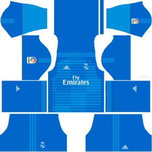 DLS Real Madrid Goapkeeper Third Kits