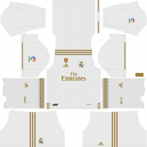 DLS Real Madrid Home Kits
