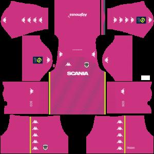 Dream League Soccer DLS 512×512 Angers SCO GoalKeeper Third Kits