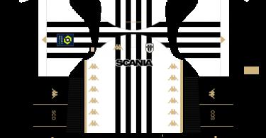 Dream League Soccer DLS 512×512 Angers SCO Home Kits