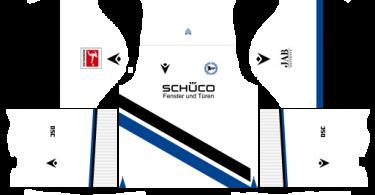 Dream League Soccer DLS 512×512 Arminia Bielefeld Away Kits