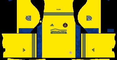 Dream League Soccer DLS 512×512 Atlanta United Third Kits