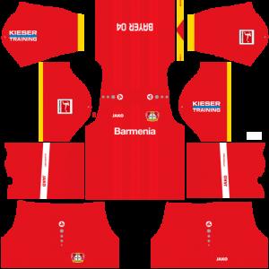 Dream League Soccer DLS 512×512 Bayer Leverkusen Away Kits
