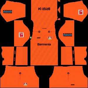 Dream League Soccer DLS 512×512 Bayer Leverkusen GoalKeeper Away Kits