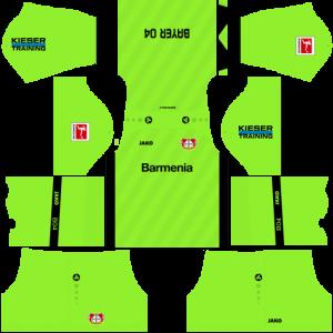 Dream League Soccer DLS 512×512 Bayer Leverkusen GoalKeeper Home Kits