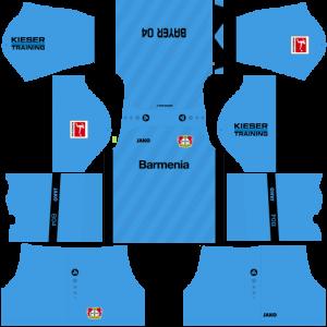 Dream League Soccer DLS 512×512 Bayer Leverkusen GoalKeeper Third Kits