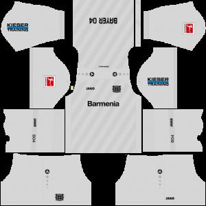 Dream League Soccer DLS 512×512 Bayer Leverkusen Third Kits