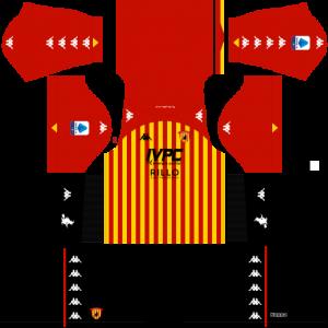 Dream League Soccer DLS 512×512 Benevento Calcio Home Kits