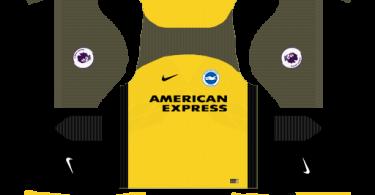 Dream League Soccer DLS 512×512 Brighton FC Away Kits