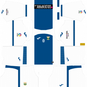 Dream League Soccer DLS 512×512 CD Leganes Home Kits