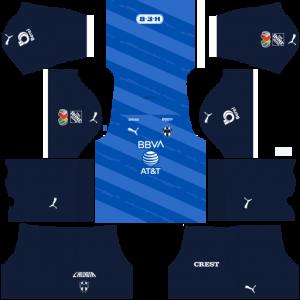Dream League Soccer DLS 512×512 CF Monterrey Away Kits