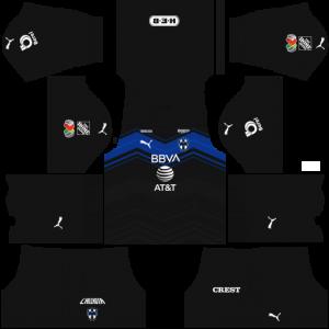 Dream League Soccer DLS 512×512 CF Monterrey Third Kits