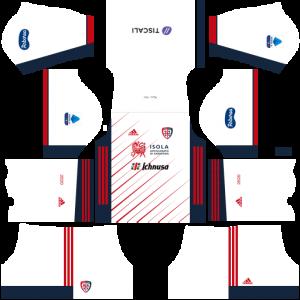 Dream League Soccer DLS 512×512 Cagliari Calcio Away Kits