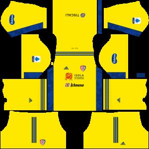 Dream League Soccer DLS 512×512 Cagliari Calcio GoalKeeper Away Kits