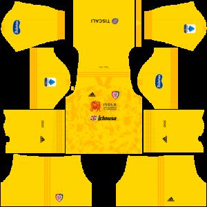 Dream League Soccer DLS 512×512 Cagliari Calcio Third Kits