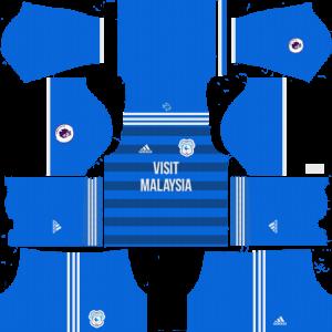 Dream League Soccer DLS 512×512 Cardiff City FC Home Kits