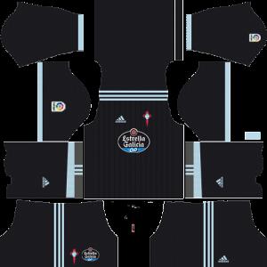 Dream League Soccer DLS 512×512 Celta De Vigo Away Kits