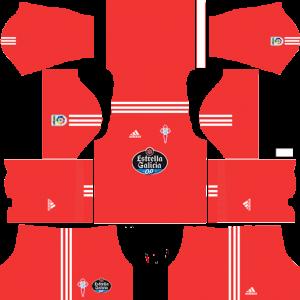 Dream League Soccer DLS 512×512 Celta De Vigo GoalKeeper Away Kits