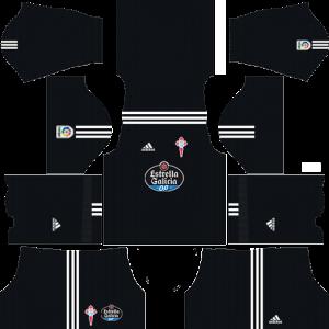 Dream League Soccer DLS 512×512 Celta De Vigo GoalKeeper Home Kits