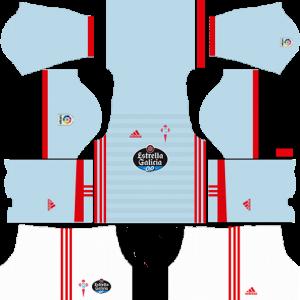 Dream League Soccer DLS 512×512 Celta De Vigo Home Kits